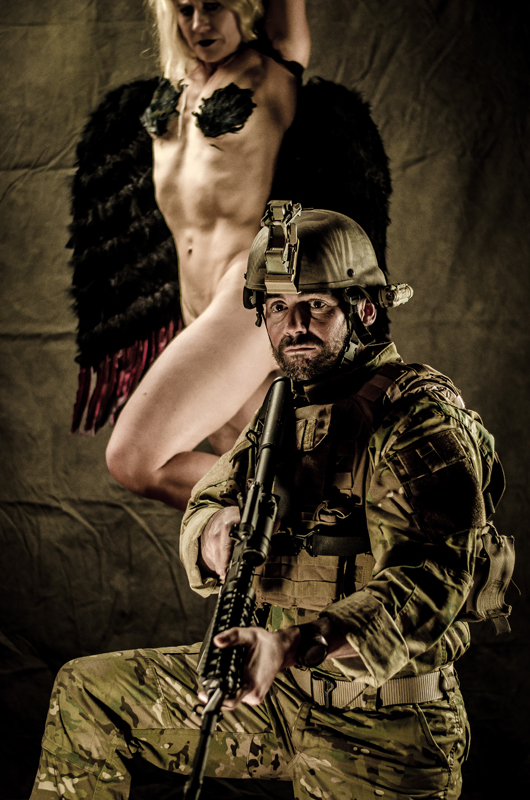 photo gallery the angel soldier lang comedy